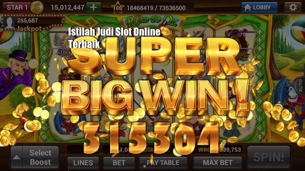 Istilah Judi Slot Online Terbaik